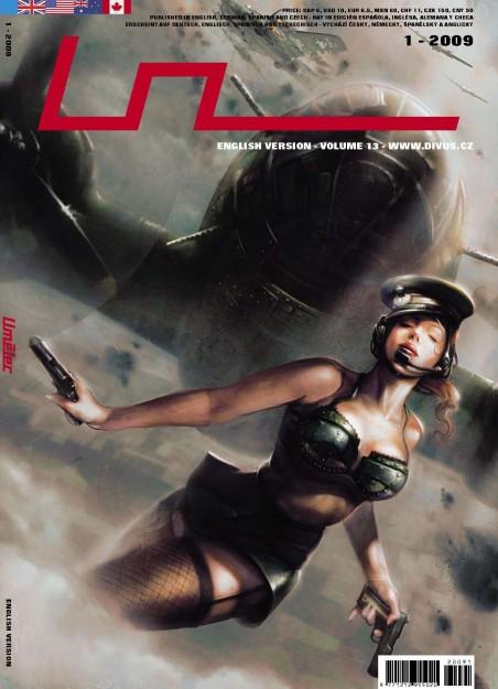 2009 01 Umelec Cover mit einem Bild von Glen Angus