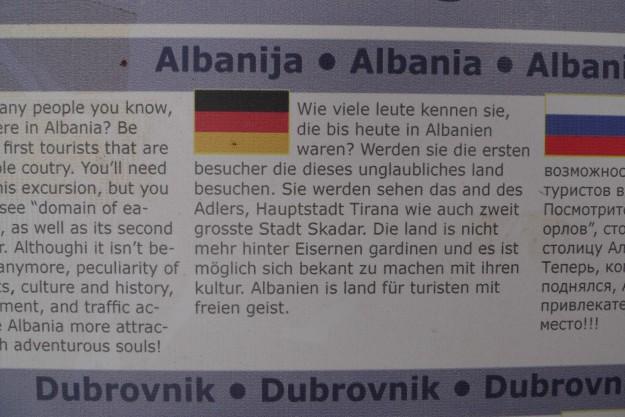 Exkursionen Ada Bojana Albanija