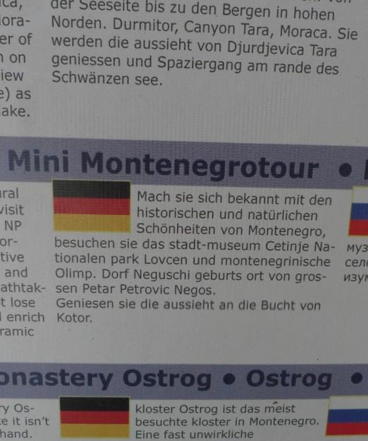 Exkursionen Ada Bojana Montenegro