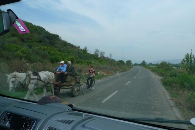 Unterwegs nach Tirana