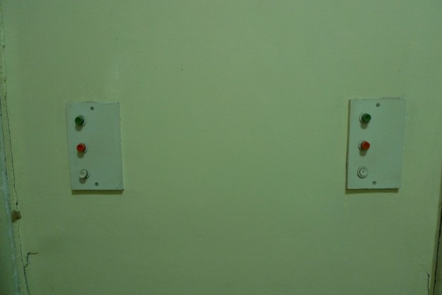 Grüner Knopf, roter Knopf