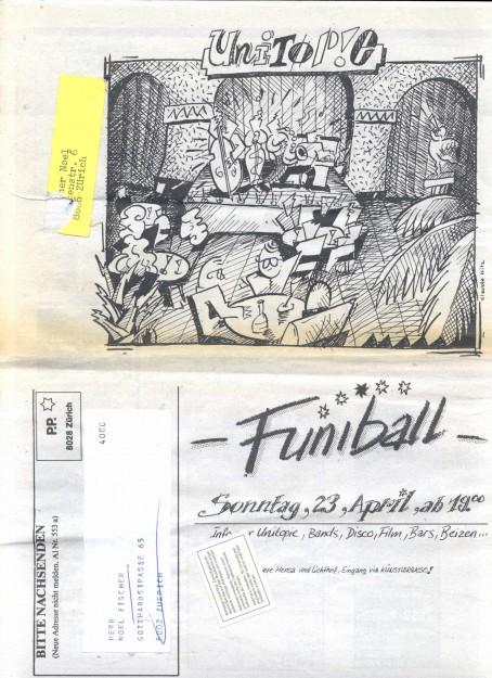 Rückseite mit Illustration von Claude Hitz