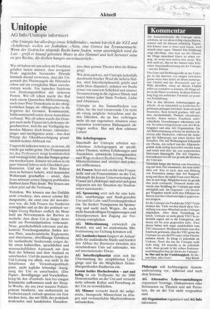 Bürgerliche Studentenzeitung