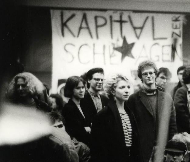 1989 Unitopie Konzert im besetzten Seminar